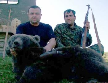 ბრაკონიერი პროკურორი – ნადირობა დათვზე ბაწარა ბაბანეურის ნაკრძალში