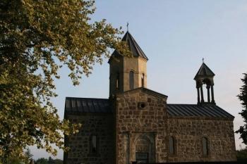 აკეთის მაცხოვრის ეკლესია, რომლის აშენებისთვის ოსტატმა შეგირდს მარჯვენა მოაჭრა