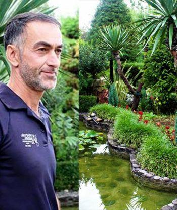 ზუგდიდის ყველაზე ლამაზი ეზო, რომელსაც 46 წლის კაცი შვიდი წელია საკუთარი ხელით აშენებს - დაათვალიერეთ ფოტოები
