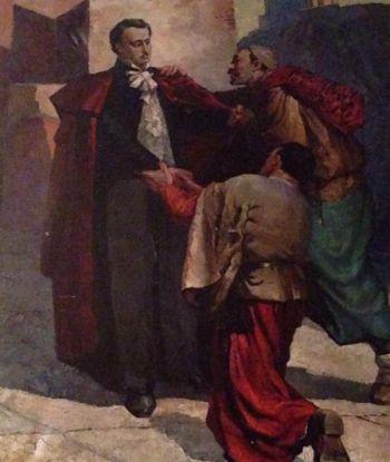 ნიკოლოზ ბარათაშვილის უცნობი ნახატი, რომელიც ქურთ მხატვარს ეკუთვნის