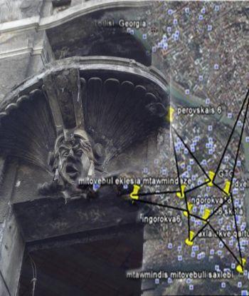 ძველი სატანიზმის ნიშნები თბილისში და 10 შენობა დედაქალაქში, რომელიც პენტაგრამას ქმნის(?!) - თეორიის მტკიცებულებები