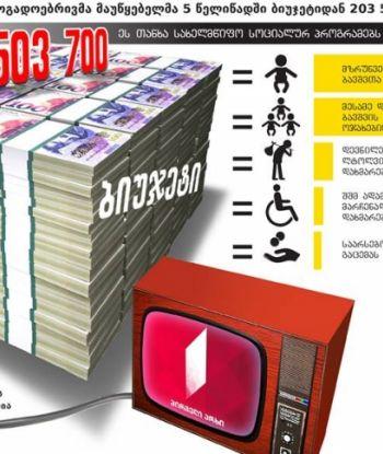 """""""საზმაუმ"""" 5 წელში ბიუჯეტიდან 203 503 700 ლარი მიიღო - რას დააფინანსებდა სახელმწიფო ამ ფულით"""